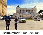 Two Guardia Or Italian Police...