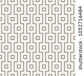 vector seamless pattern. modern ... | Shutterstock .eps vector #1052716484
