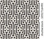 vector seamless pattern. modern ... | Shutterstock .eps vector #1052716490
