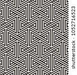 vector seamless pattern. modern ... | Shutterstock .eps vector #1052716523