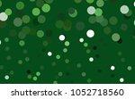 dark green vector abstract... | Shutterstock .eps vector #1052718560