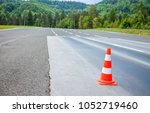 there is an orange and white...   Shutterstock . vector #1052719460