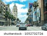 los angeles  california  usa  ... | Shutterstock . vector #1052732726