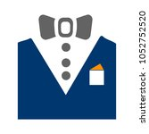 vector tuxedo   wedding suit ...   Shutterstock .eps vector #1052752520