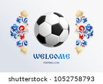 football background place for... | Shutterstock .eps vector #1052758793