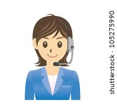 operator | Shutterstock .eps vector #105275990
