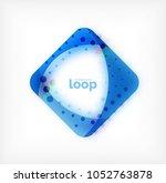 vector square loop business... | Shutterstock .eps vector #1052763878