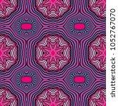 seamless striped vector pattern.... | Shutterstock .eps vector #1052767070