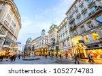 vienna  austria   january 17 ... | Shutterstock . vector #1052774783