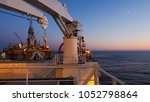 overview of a floating... | Shutterstock . vector #1052798864