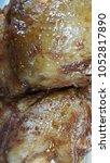 grilled chicken with chicken | Shutterstock . vector #1052817890