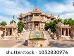 borij derasar  a jain temple in ...   Shutterstock . vector #1052830976
