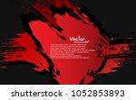 background brush splash color... | Shutterstock .eps vector #1052853893