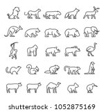 set of quality universal... | Shutterstock .eps vector #1052875169