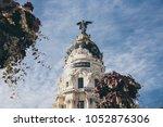 spain   december 13  dome of... | Shutterstock . vector #1052876306