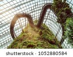 garden by the bay  singapore ... | Shutterstock . vector #1052880584