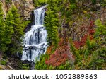 Undine Falls In Yellowstone In...