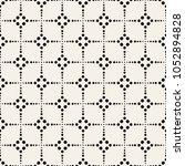 vector seamless pattern. modern ... | Shutterstock .eps vector #1052894828