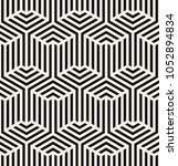 vector seamless pattern. modern ... | Shutterstock .eps vector #1052894834