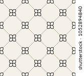 vector seamless pattern. modern ... | Shutterstock .eps vector #1052894840