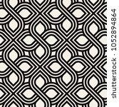 vector seamless pattern. modern ... | Shutterstock .eps vector #1052894864