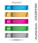 modern design template  can be... | Shutterstock .eps vector #1052895584
