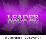 business wording on abstract