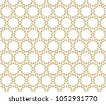 abstract geometric seamless... | Shutterstock .eps vector #1052931770