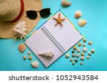 the layout on the theme of... | Shutterstock . vector #1052943584