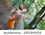 children with my mother are... | Shutterstock . vector #1052949329