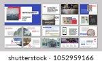 original presentation templates ... | Shutterstock .eps vector #1052959166