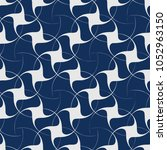 vector seamless pattern with... | Shutterstock .eps vector #1052963150
