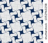 vector seamless pattern with... | Shutterstock .eps vector #1052963258