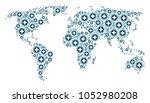global atlas composition...   Shutterstock .eps vector #1052980208