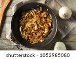 healthy homemade caramelized... | Shutterstock . vector #1052985080