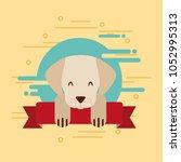 love dog pet | Shutterstock .eps vector #1052995313