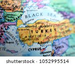 country turkey isolated focus... | Shutterstock . vector #1052995514