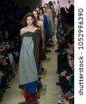 new york  ny   february 14 ... | Shutterstock . vector #1052996390