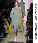 new york  ny   february 14 ...   Shutterstock . vector #1052996546