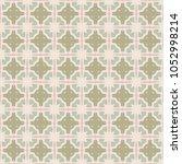 vector seamless geometric... | Shutterstock .eps vector #1052998214