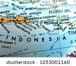 indonesia islands isolated... | Shutterstock . vector #1053001160