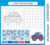 copy the picture off road car... | Shutterstock .eps vector #1053004334
