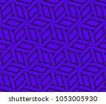 decorative seamless geometric... | Shutterstock .eps vector #1053005930