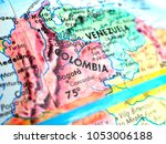 colombia south america isolated ... | Shutterstock . vector #1053006188