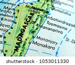 madagascar isolated focus macro ... | Shutterstock . vector #1053011330