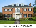 Classic Luxurious Red Brick...