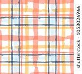 kilt texture. seamless grunge... | Shutterstock .eps vector #1053026966