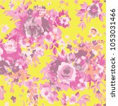 abstract floral pattern in...   Shutterstock .eps vector #1053031466