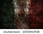 grunge mexico flag | Shutterstock . vector #1053042938