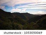 rimutaka ranges from the... | Shutterstock . vector #1053050069